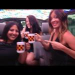 team fit chicks on cash cab