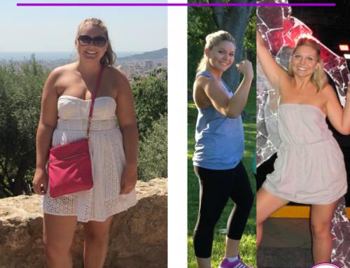 37lbs down, 20in lost & fierce new stamina: Celebrating Alyssa fitness transformation!